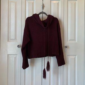Sweater w/hood